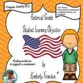 Nonfiction Reading SLO, Finding Evidence using American Historical Events