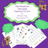 SLO ELA Assessment 1st Grade Beginning of Year