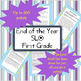 SLO Math Assessment 1st Grade End of the Year