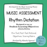 SLO/SGO Assessment: Rhythm Dictation