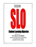 SLO (Student Learning Objective Sample) for Teacher Evalua