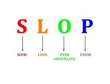 SLOP articulation strategy handout