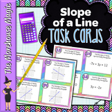SLOPE OF A LINE TASK CARDS ACTIVITY