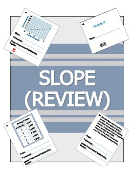 SLOPE REVIEW 8.F.A.3, 8.F.A.4, 8.F.A.5