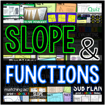 SLOPE and FUNCTIONS