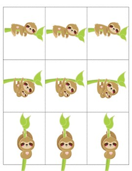 SLOTH SLAP Orton Gillingham card game for blends r blends l blends -ck