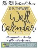 SLP Wall Calendar