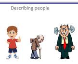 SLP Activity: Describing People