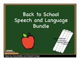 SLP Back to School Bundle