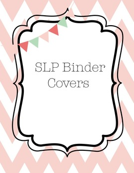 SLP Binder Covers