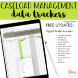 SLP Caseload Manager and Data Trackers Google Sheets™