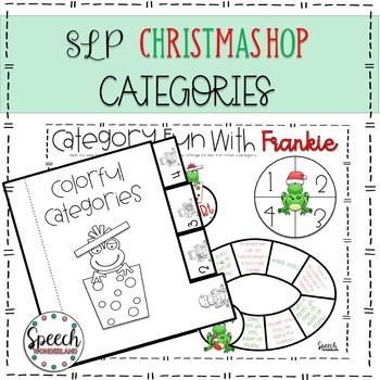 SLP Christmas Hop: Categories