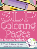 SLP Coloring Pages