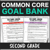 Speech Therapy Common Core Second Grade Goal Bank Bundle