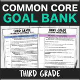 Speech Therapy Common Core Third Grade Goal Bank Bundle