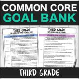 Speech Therapy Common Core Third Grade Goal Bank