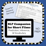SLP Companion for Short Films: Prediction, Inference, Vocab
