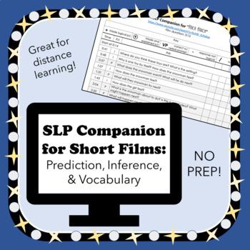 SLP Companion for Short Films: Prediction, Inference, Vocab
