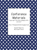 SLP Conference Materials