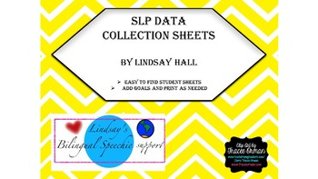 SLP Data Collection Sheets