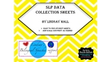 SLP Data Collection Sheets