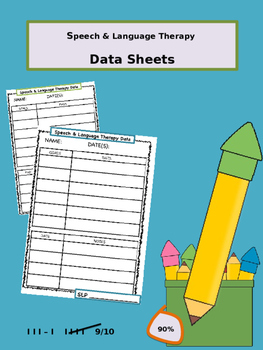 SLP Data Sheets