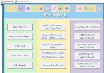 SLP Database 3.0 Template Instructions