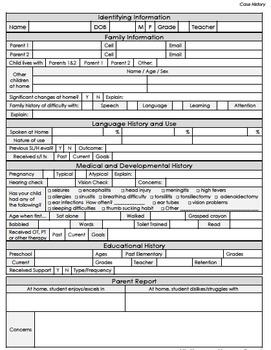 SLP Essential Caseload Management Forms