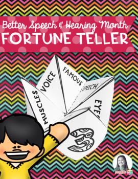 SLP Fortune Teller for Better Speech & Hearing Month