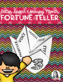 SLP Fortune Teller for Better Speech & Hearing Month