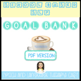 SLP GOAL BANK-SCHOOL SETTING-PDF VERSION
