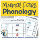 Phonology Minimal Pairs Oppositions | Go-To Quick Skill Drill Cards