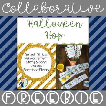 SLP Halloween Hop:  Smash Strips, Story Icons & Sentence Strips FREEBIE