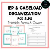 SLP IEP & Caseload Organization
