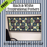 SLP Inspirational Quote Posters - Freebie