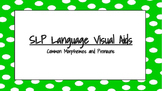 SLP Language Visual Aides