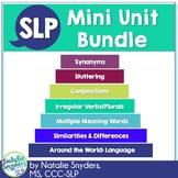 SLP Mini Unit Bundle - for 2nd through 8th Grades