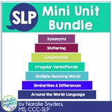 SLP Mini Unit Bundle - for 2nd through 8th Grades