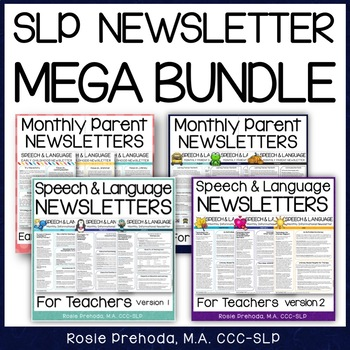 SLP Newsletter Bundle