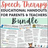 SLP Newsletter MEGA Bundle