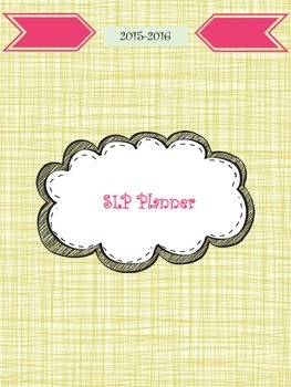 SLP Planner 2015-2016