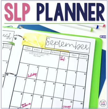 SLP Planner 2018-19