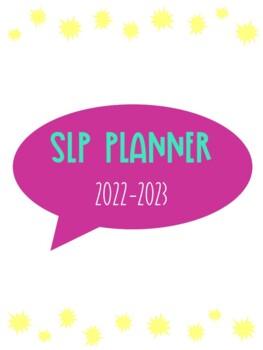 SLP Planner 2018-2019 Teal & Purple Version