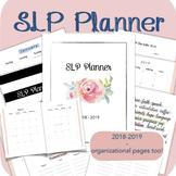 SLP Planner 2018-2019