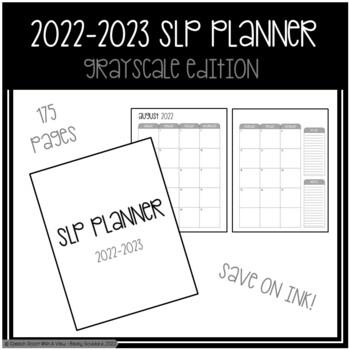 SLP Planner 2018-2019 Grayscale