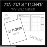 SLP Planner 2018-2019 Grayscale