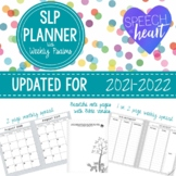 SLP Planner with Psalms: *Updated for 2020-2021*