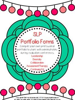 Speech Language Pathology - Professional Portfolio Forms f