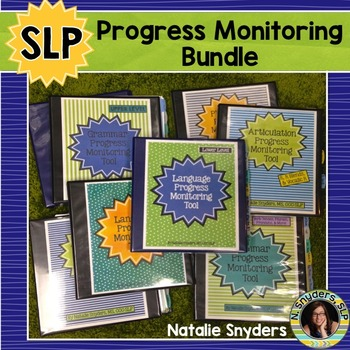 SLP Progress Monitoring Tools - Complete Bundle