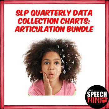 SLP Quarterly Data Collection Charts: Articulation Bundle
